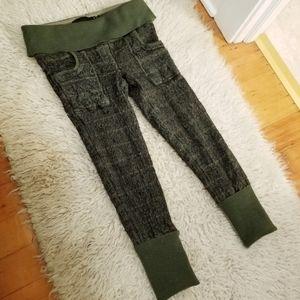 L A M B Gwen Stefani Wool Plaid Pants